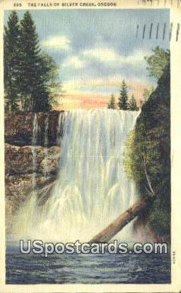 The Falls Silver Creek OR 1937