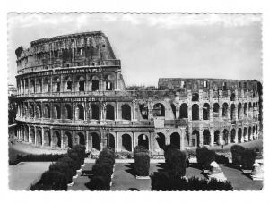 Italy Rome Colosseum Roma Colosseo Glossy Photo 4X6 Postcard
