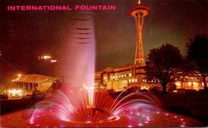 Washington Seattle World's Fair International Fountain 1962