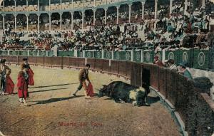 Spain Bullfighting Muerte del toro 01.79
