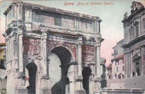 Italy Rome Arco di Settimio Severo