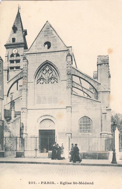 FRANCE PARIS EGLISE ST. MEDARD CHURCH