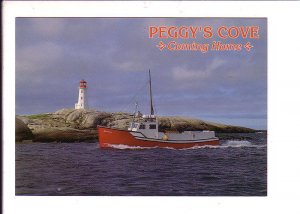 Peggy's Cove, Fisherman Coming Home, Lighthouse, Nova Scotia, Canada,