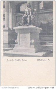Benjamin Franklin Statue Philadelphia Pennsylvania