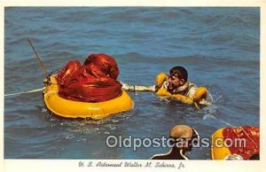 Space Postcard Post Card Hackensack, Jew Jersey, USA US Astronaut Walters M S...