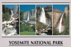 California Yosemite National Park Waterfalls