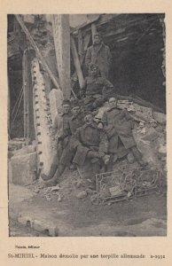 War 1914-18 ; ST-MIHIEL - Maison demolie par une torpille allemande