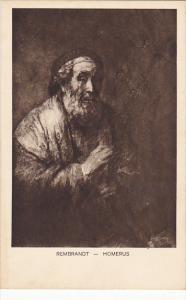 Homerus by Rembrandt Museum Den Haag