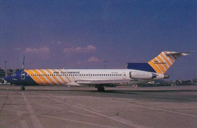 Air Columbus Boeing 727-2J4 At Frankfurt Germany