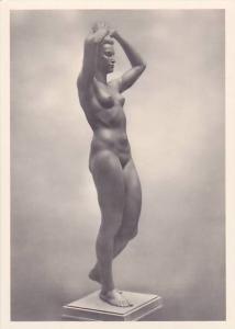 RP; German NAZI Era Art, Nude Woman, Hermann Zettlitzer, Nationalgalerie, Ber...