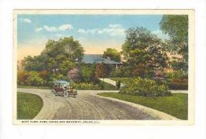 West Park, Park House & Roadway, Joliet, Illinois, PU-1919