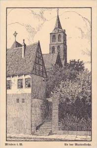 Germany Minden An Der Marienkirche