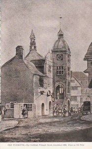 England Old Plymouth Guildhall Whimple Street