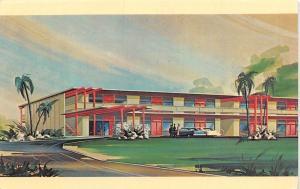 Fresno California~Manchester 41 Motel~Blackstone Ave~Artist Conception~1960 PC