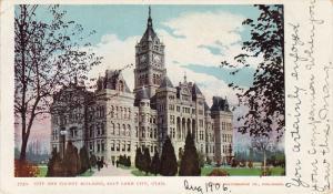 City And County Building, SALT LAKE CITY, Utah, 1910-920s