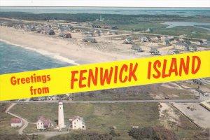 FENWICKI ISLAND , Delaware , 50-60s
