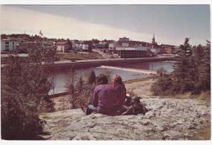 River Bank View , ALMA, Quebec , Canada , 50-60s