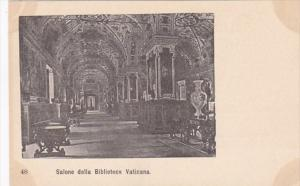 Italy Rome Salone della Biblioteca Vaticana