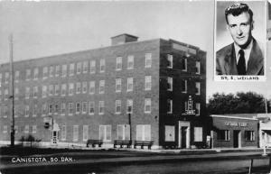 Canistota South Dakota~Dr S Weiland~Ortman Clinic~Hotel~1950s RPPC