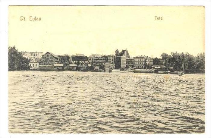 Total, Deutsch Eylau, Poland, PU-1912