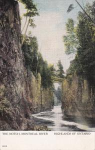 ONTARIO, Canada, 1900-1910's; The Notch, Montreal River, Highlands of Ontario