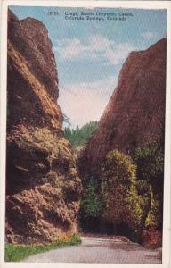 Colorado Colorado Springs Crags South Cheyenne Canon