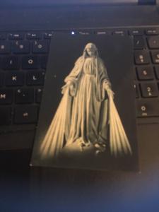 Vintage Postcard: ND De La Medaille Miraculeuse Blessed Virgin