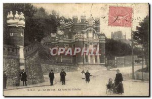 Old Postcard Le Havre The Gate of Currants