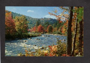 PA Greetings From Honesdale Pennsylvania Postcard River View