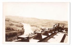 RPPC Marie Antoinette Lookout Rt 6 Towanda Wyalusing PA 1951