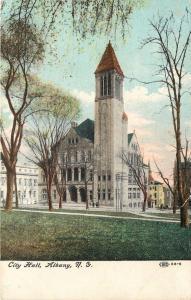 Invitation Karl Marx 2/12/1916 Speech Event in Chicago Albany New York Postcard