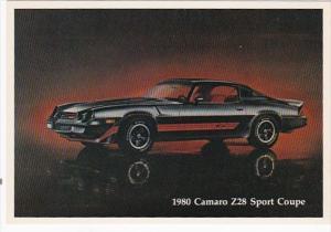 1980 Chevrolet Camaro Z28 Sport Coupe