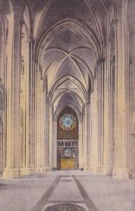 The Nave Looking West The Cathedral Of Saint John the Divine New York City Ne...