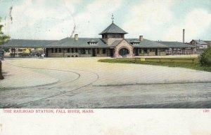 FALL RIVER , Massachusetts , 1901-07 ; Railroad Station