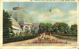 Horticultural Bldg, Belle Isle Detroit MI 1946