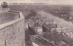 Panorama Vu De La Route Marveilleuse, NAMUR, Belgium, 00-10's