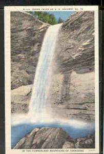 Tennessee colour PC Ozone Falls US Hwy 70 Cumberland Mtns unused