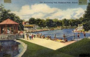 Swimming Pool, Piedmont Park Atlanta GA Unused