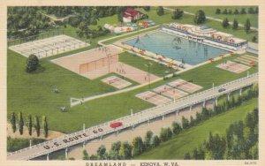 KENOVA, West Virginia, 1930-40s; Dramland, Swimming Pool, U.S. Route 60