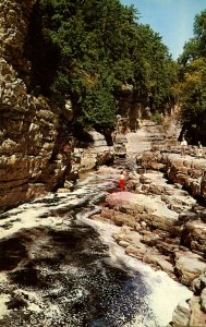 NY - Ausable Chasm. Down River from Pulpit Rock