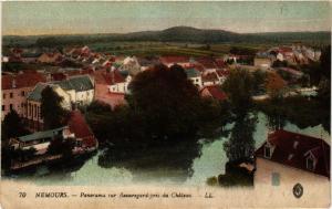 CPA NEMOURS - Panorama sur Beauregard pris du Chateau (436942)