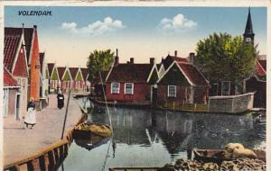 Partial Scene, Boat, Volendam (North Holland), Netherlands, 1910-1920s
