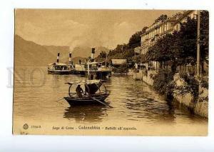 126590 ITALY Lago di Como CADENABBIA Vintage postcard