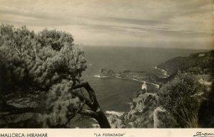 Spain - Mallorca. Seacoast, La Foradada    RPPC