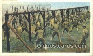 Bayonet Exercise Military 1918 Missing Stamp