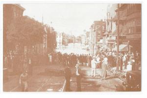 PA York 1933 Florence Wertz Flood Photo West Market Street 1970's Postcard