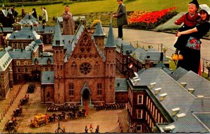 Netherlands Den Haag Miniature City Madurodam The Inner Court