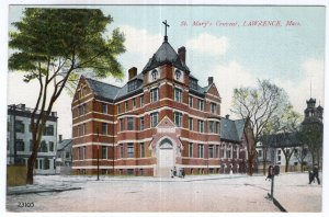 Lawrence, Mass, St. Mary's Convent