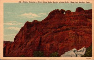 Colorado Pikes Peak Region Garden Of The Gods Kissing Camels On North Gate Rock