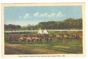 Royal Canadian Mounted Police Featuring Their Musical Ride, Canada, PU-1946